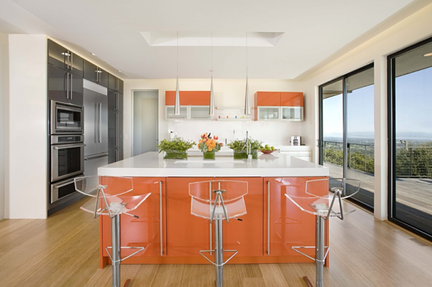 In the clear rooms adorned lucite california home design also rh pinterest