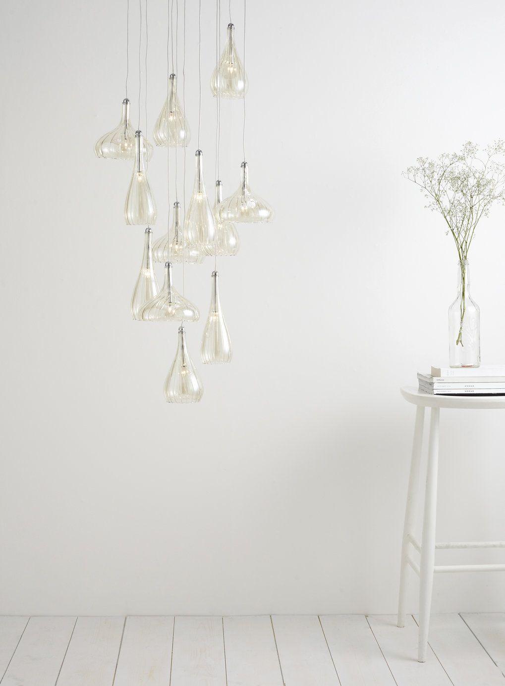 Carrara 12 Light Ceiling Pendant Light - BHS 48\