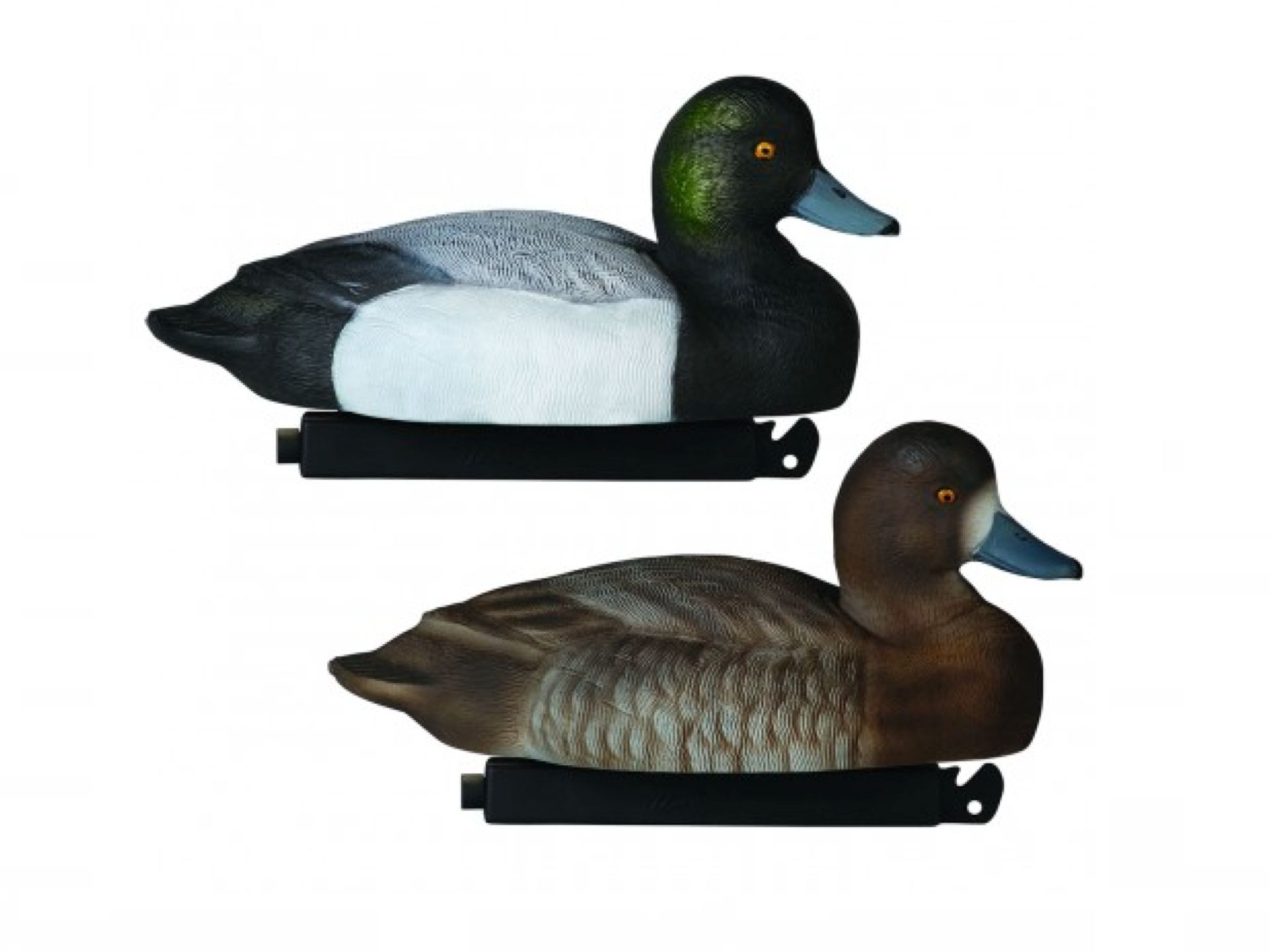 Tanglefree Migration Edition Floating Bluebill Decoys, 12 Pack with
