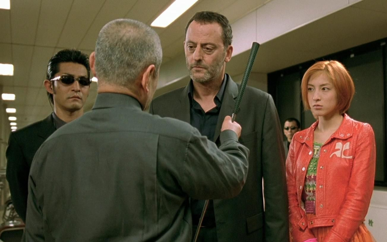 Jean Reno and Ryoko Hirosue # WASABI # 2001 French action ...