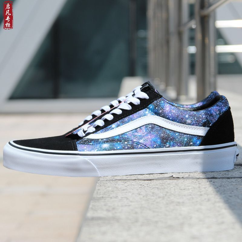 b39f77f85380 Vans Old Skool Star Print Casual Sport Board Skate Shoes  Vans ...