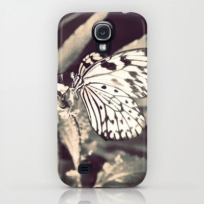 If Nothing Ever Changed, There'd Be No Butterflies - Sepia Macro of a pretty Butterfly iPhone & iPod Case