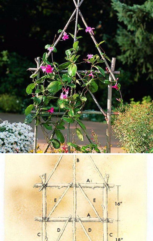 30 Diy Gitter Ideen Fur Ihren Garten Diyselbermachen Gitter Garten Gartenspaliere Gitter Ideen
