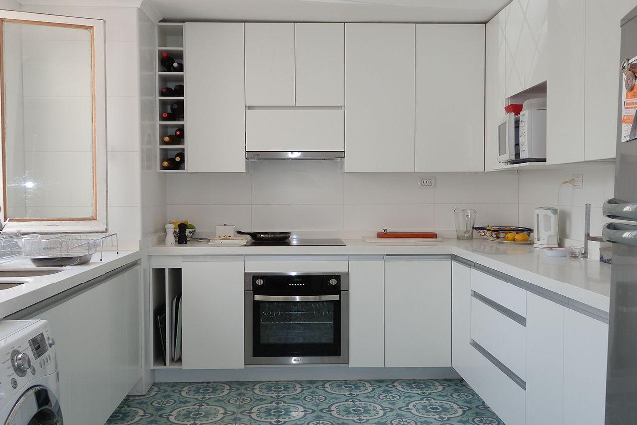 Cocina Muebles Blancos