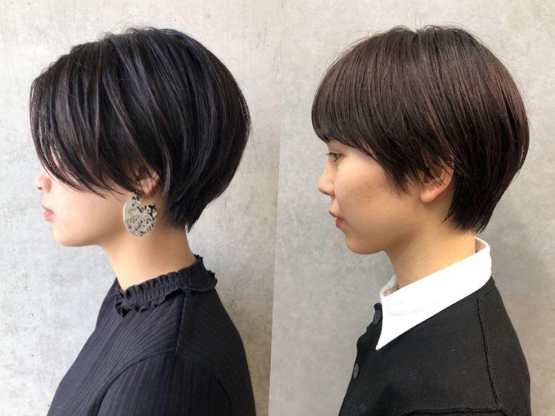 髪の量が多い人必見 美容師おすすめ 広がりにくい ショートヘア3選 美髪 ショートヘア 髪型 ベリーショート レディース