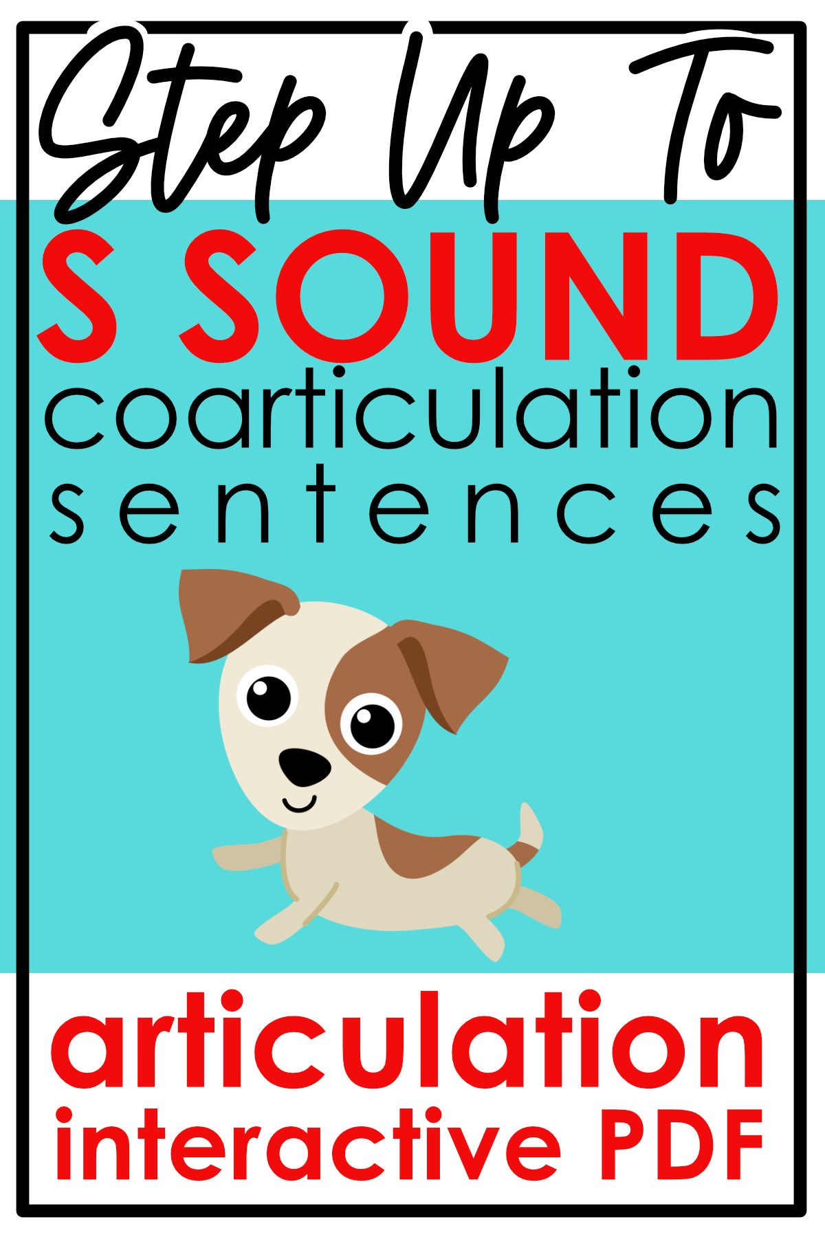 S Sound Sentences With Coarticulation