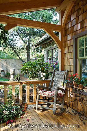 Timber Frame Home Design Log Home Pictures Log Home Designs Cabins And Cottages House With Porch Porch Design
