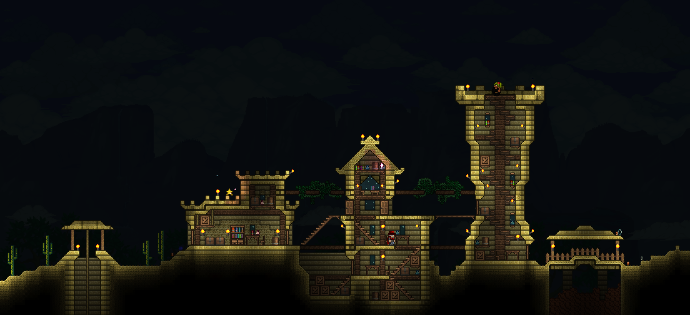 Pin By Qualiya On Terraria And Starbound Terrarium Big Ben Towns