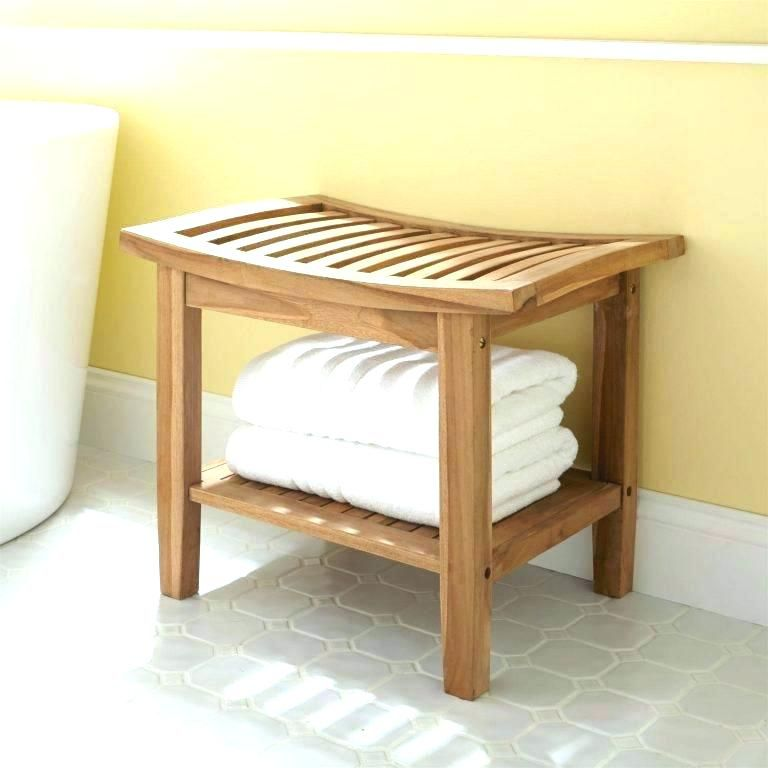 Storage Bench For Bathroom