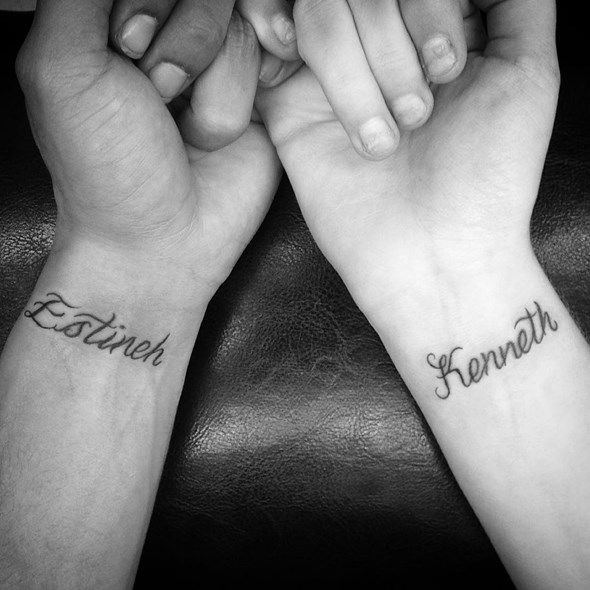 e38287777 60 Brother Sister Tattoo That Will Melt Your Heart   Art & Love ...