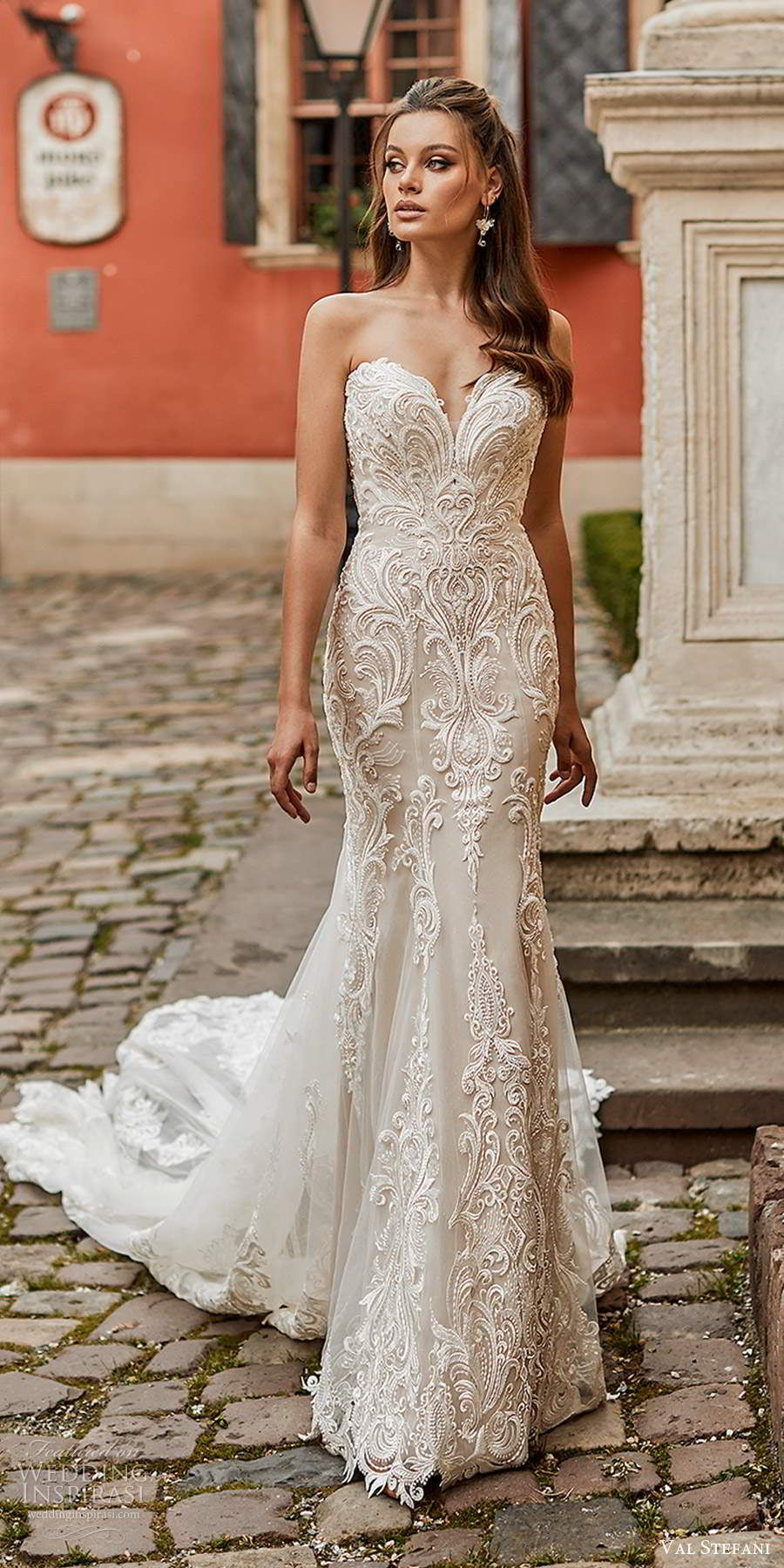 Val Stefani Spring 2021 Wedding Dresses Wedding Inspirasi Wedding Dress Trends Designer Bridal Gowns Beach Bridal Gown [ 1800 x 900 Pixel ]
