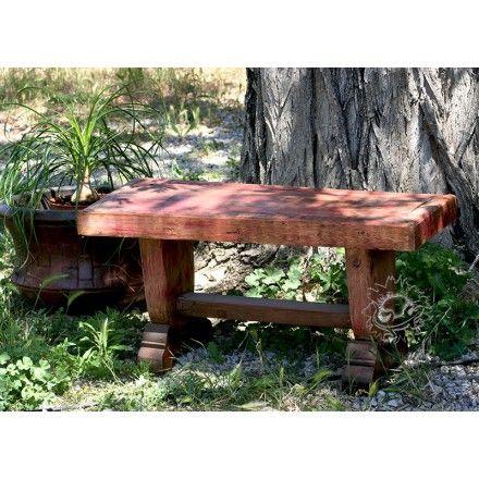 Petits bancs de jardin en pin, meuble mexicain | Mobilier de