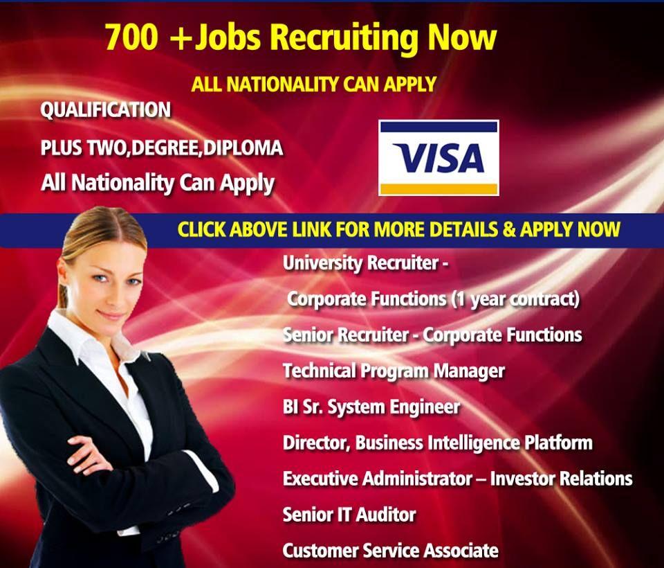 ️VISA Recruiting Now! + Free VISA