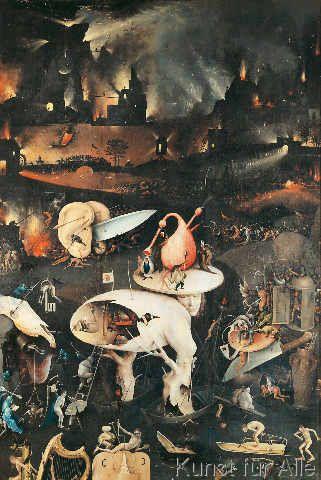 Hieronymus Bosch Bosch Garten Der Luste Rechter Flugel 47 0 X