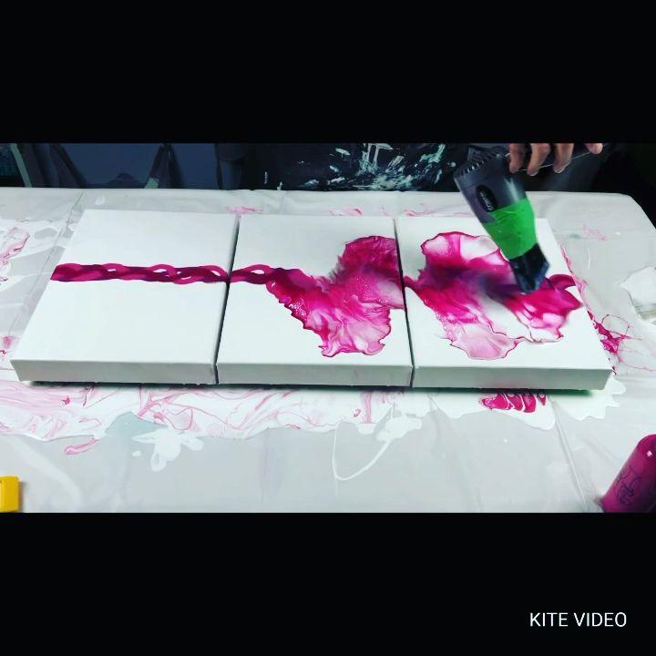 Photo of #148 – Fail, Scrape, Re-Pour, SUCCESS! | Fluid Artist | Acrylic Pouring – YouTube