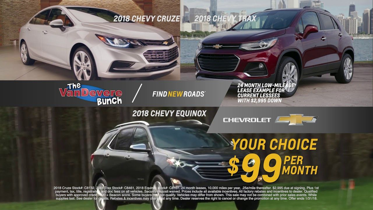 2018 Chevy Traverse Lease Deals