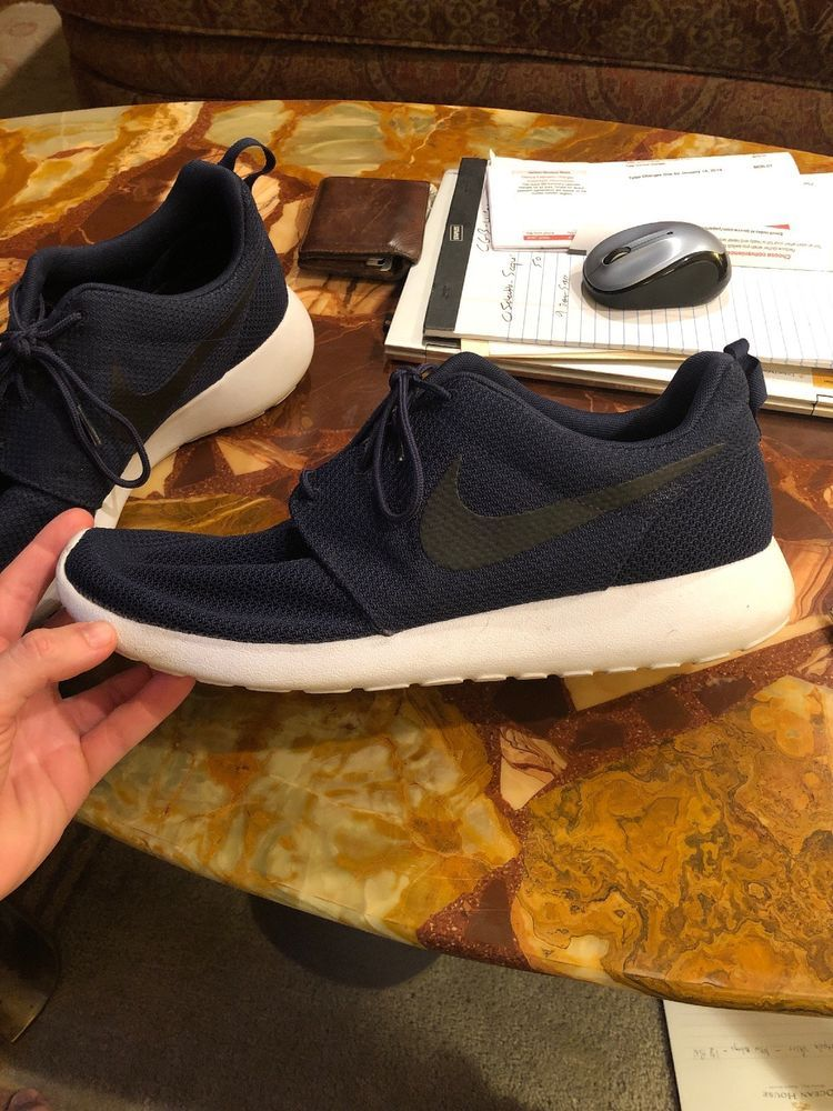 e5bf8d030570 Nike Roshe Run One Men s Running Sneakers Midnight Navy Size 13  fashion   clothing