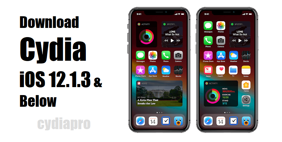 Cydia downloader released for Install Cydia on iOS 12.1.3