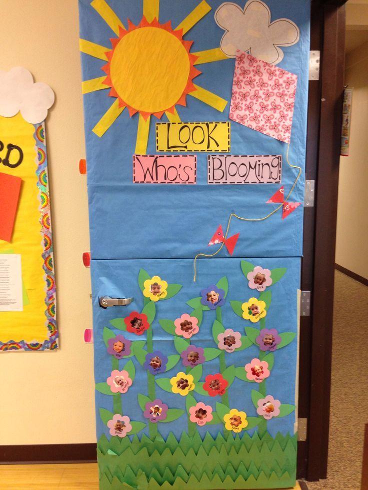 spring ideas for classroom doors | Spring classroom door ...