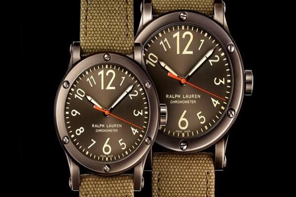 4e3753386b0 Ralph Lauren Sporting Safari Chronometer Steel with Gunmetal Finish. reloj  RALPH LAUREN.
