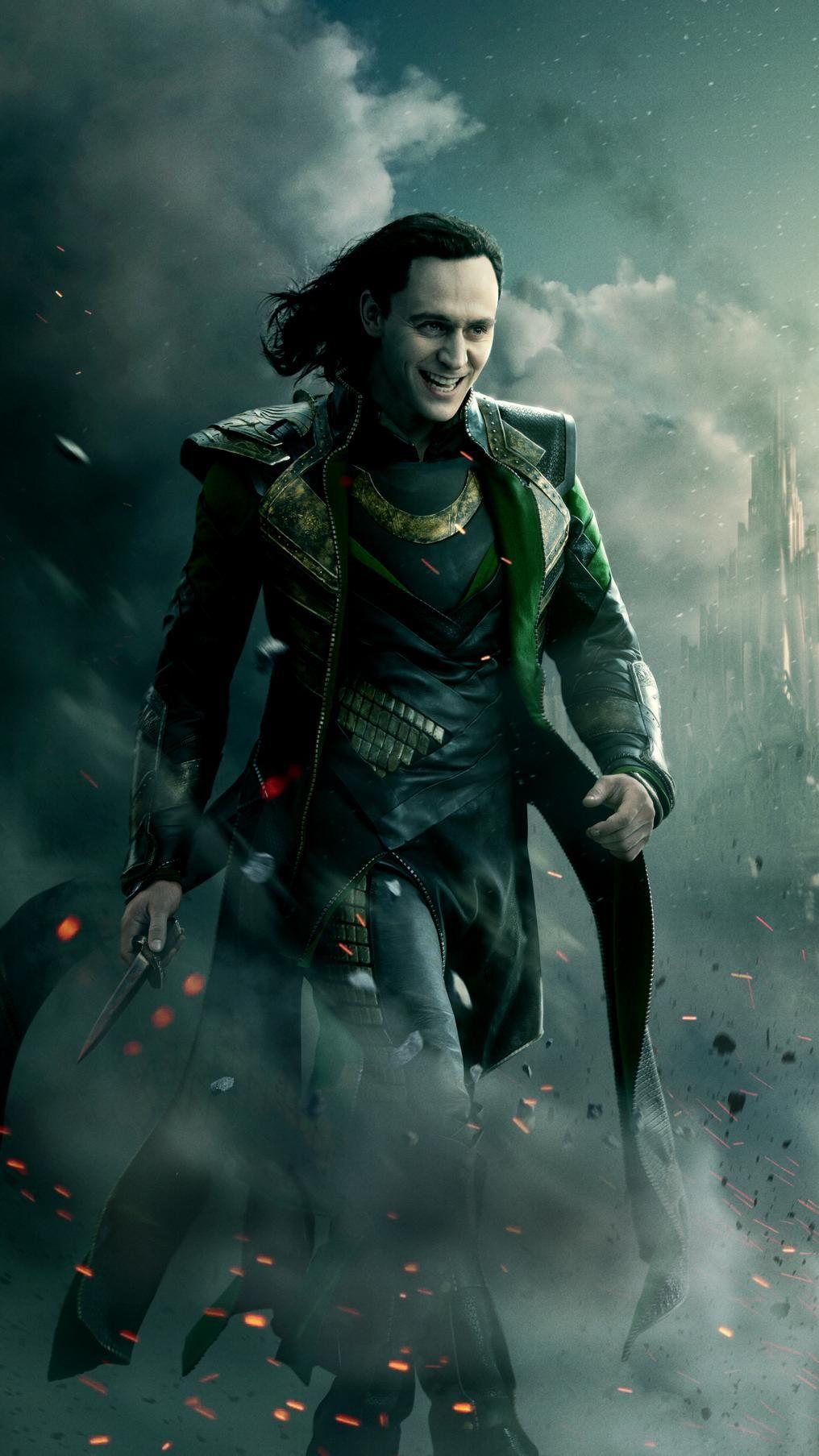 Thor (2011) Phone Wallpaper Loki poster, Loki wallpaper