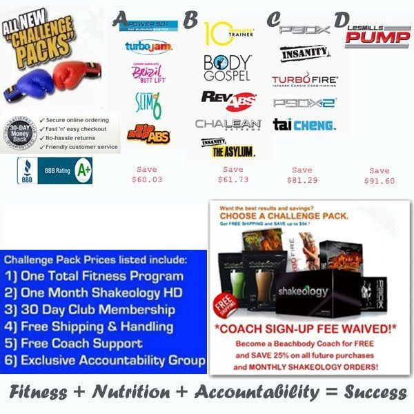 IT'S TIME. Check out my Beachbody Challenge page on my blog. Fill ...