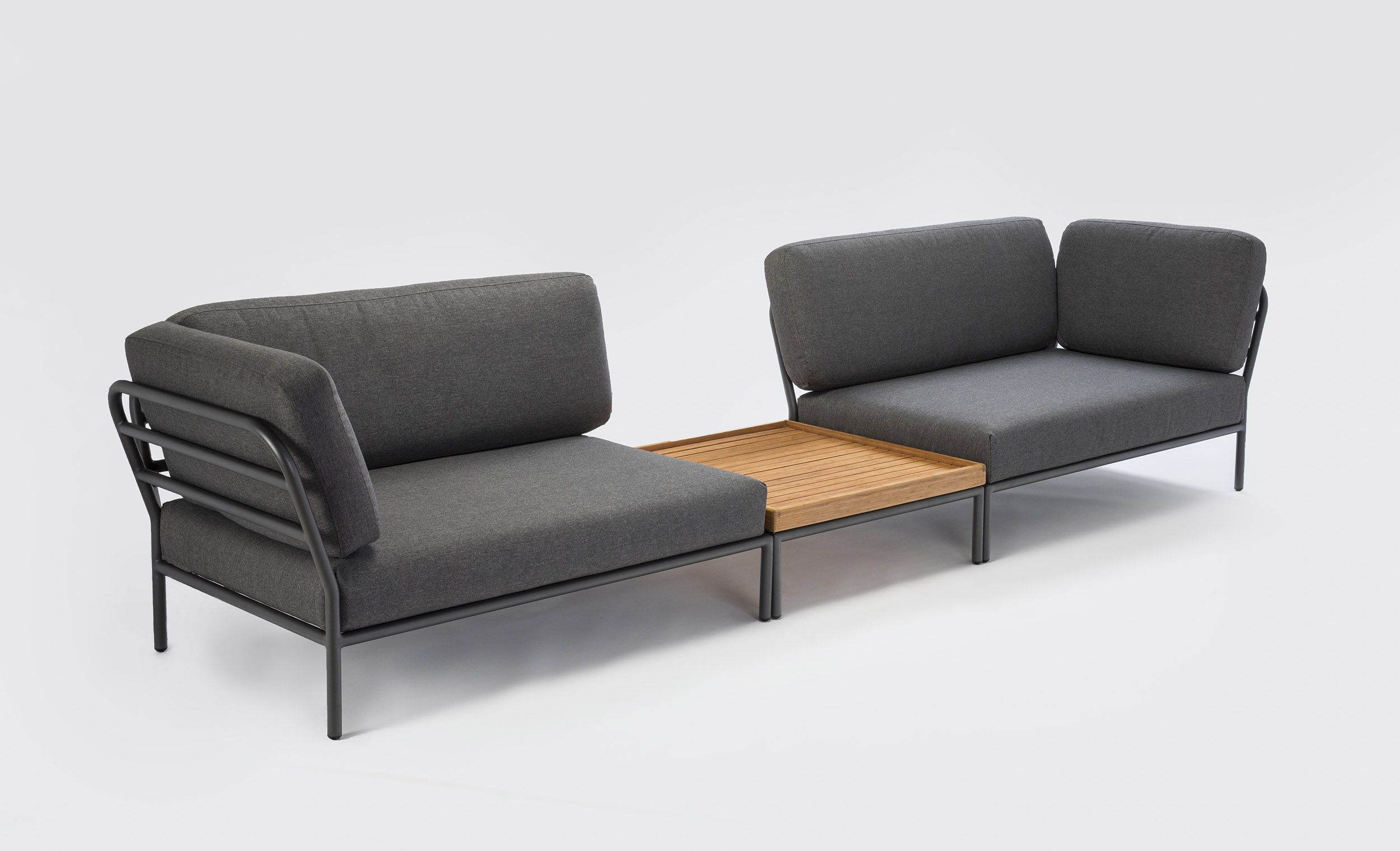 Balkon Sofa 140 Cm Level Outdoor Lounge Module From Houe Houe Level Lounge