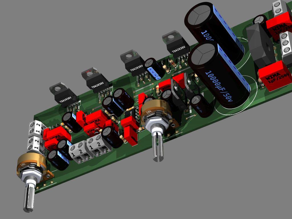Tda2030 21 Subwoofer Estereo Op Amp 450x337 Amplificador De Udio Hi Fi Audio Amplifier Circuit Electronic Project Com Ne5532 Circuito