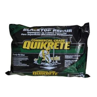 Quikrete Blacktop Repair For Driveway 9 65 For 50lb Bag Repair Home Maintenance Home Improvement