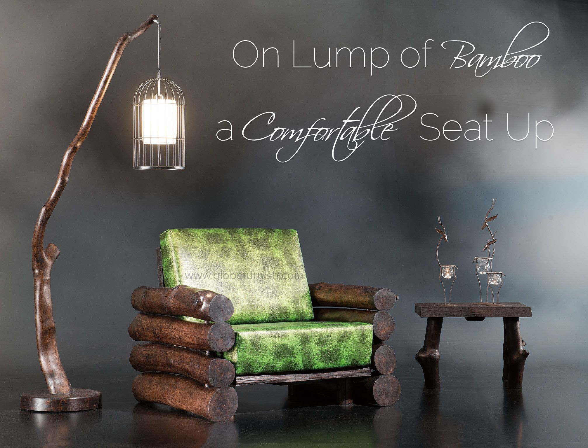 Bamboo Arm Chair For The Weekend Home Or A Oak Tree House Quotes