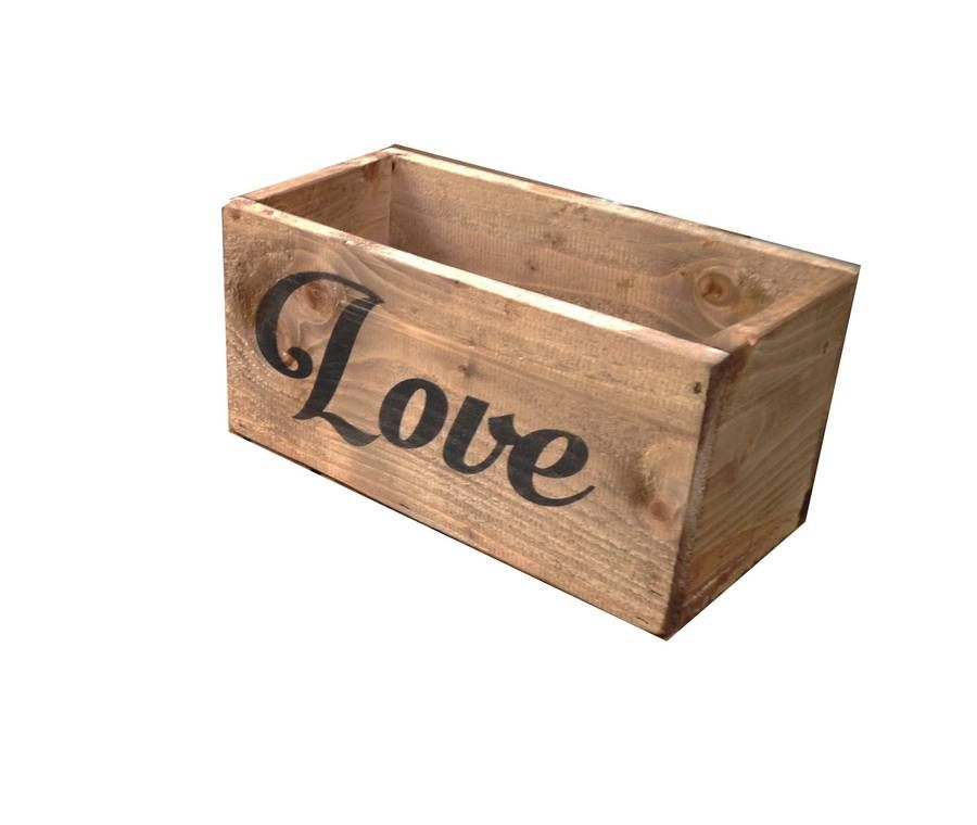 Personalised Wedding Card Storage Box