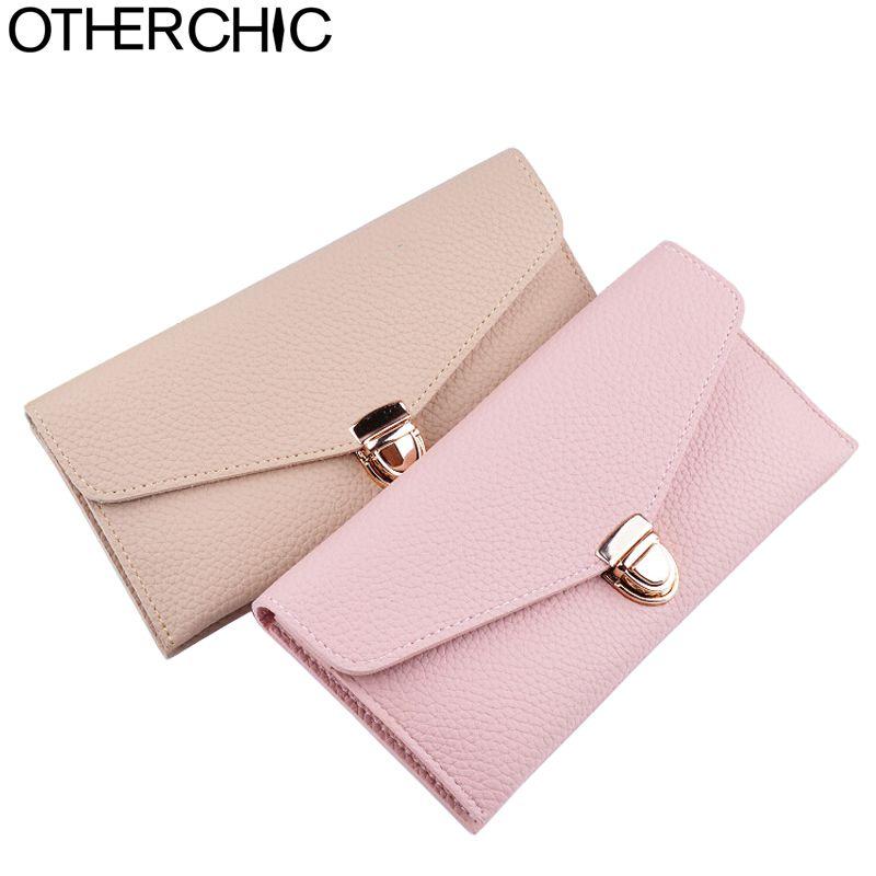 657d76e25 OTHERCHIC Women Envelope Wallet Women Long Slim Wallets Ladies Wallet Purse  Female Purses Bag Money Clip Portefeuille 6N08-21