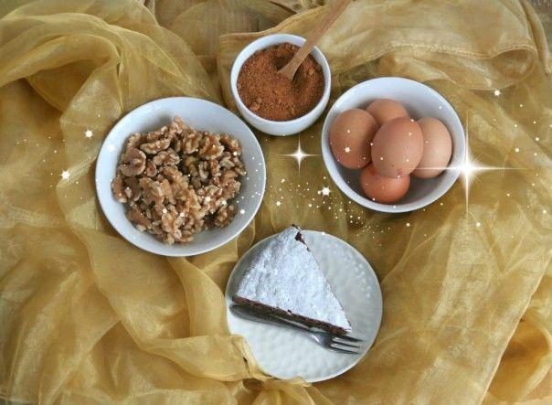 Walnotentaart (met 3 ingredienten) - Lekker eten met Linda