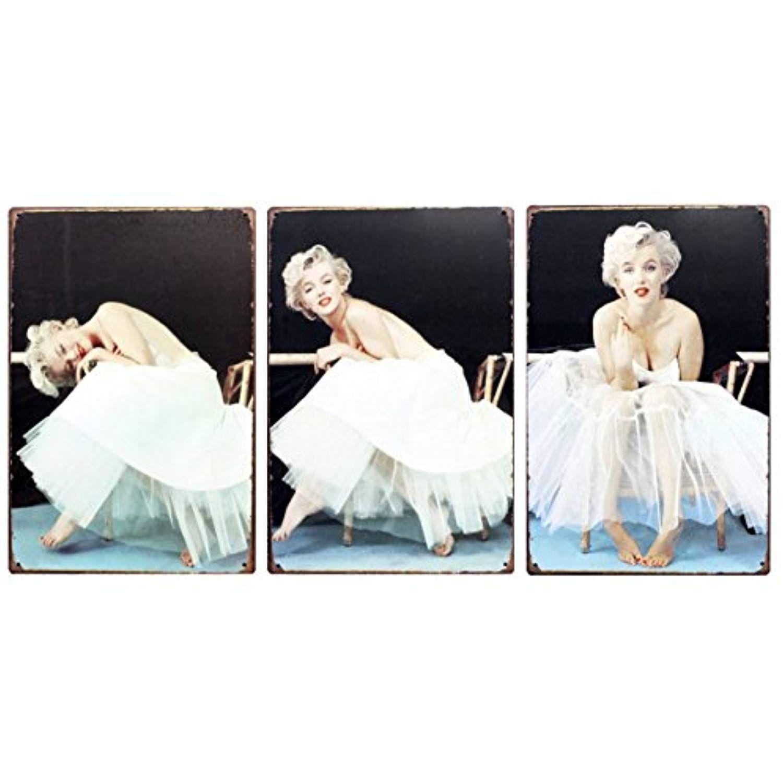 Marilyn monroe classical retro tin sign 118 x 787