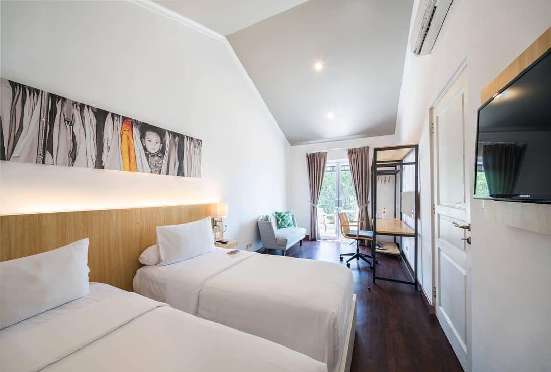 Hotel Villa Puncak Jawa Barat Tempat