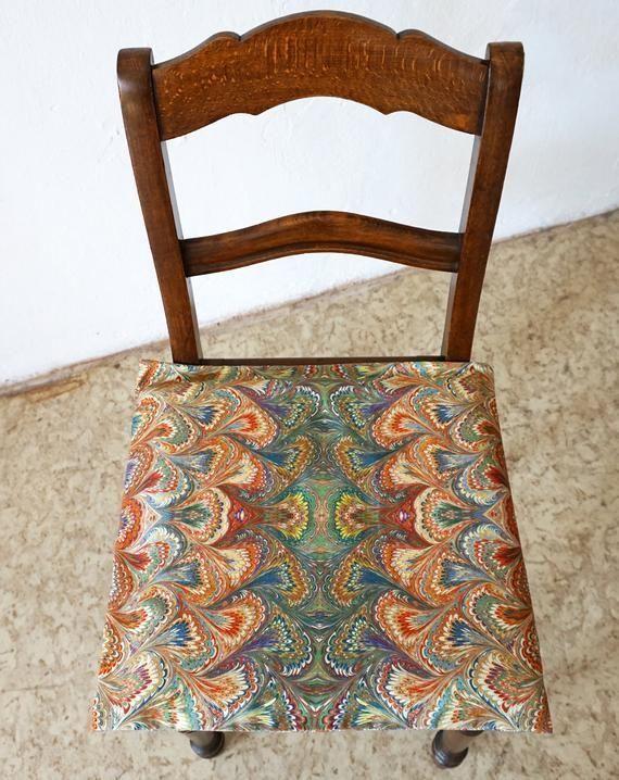 ART DECO Pillow Cases, Organic Cotton, Art Nouveau, digital print, marbling, bro