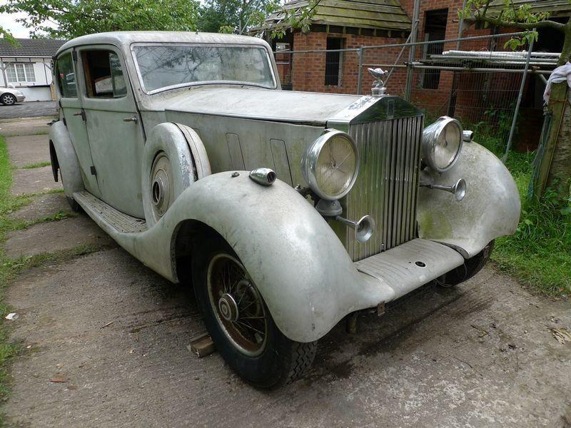 Rolls Royce Phantom lll Windovers Sports Special 1936