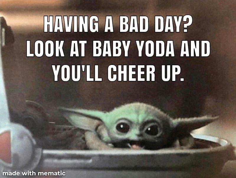 Pin By Tina Miller Ralston On Baby Yoda In 2021 Yoda Meme Yoda Star Wars Yoda
