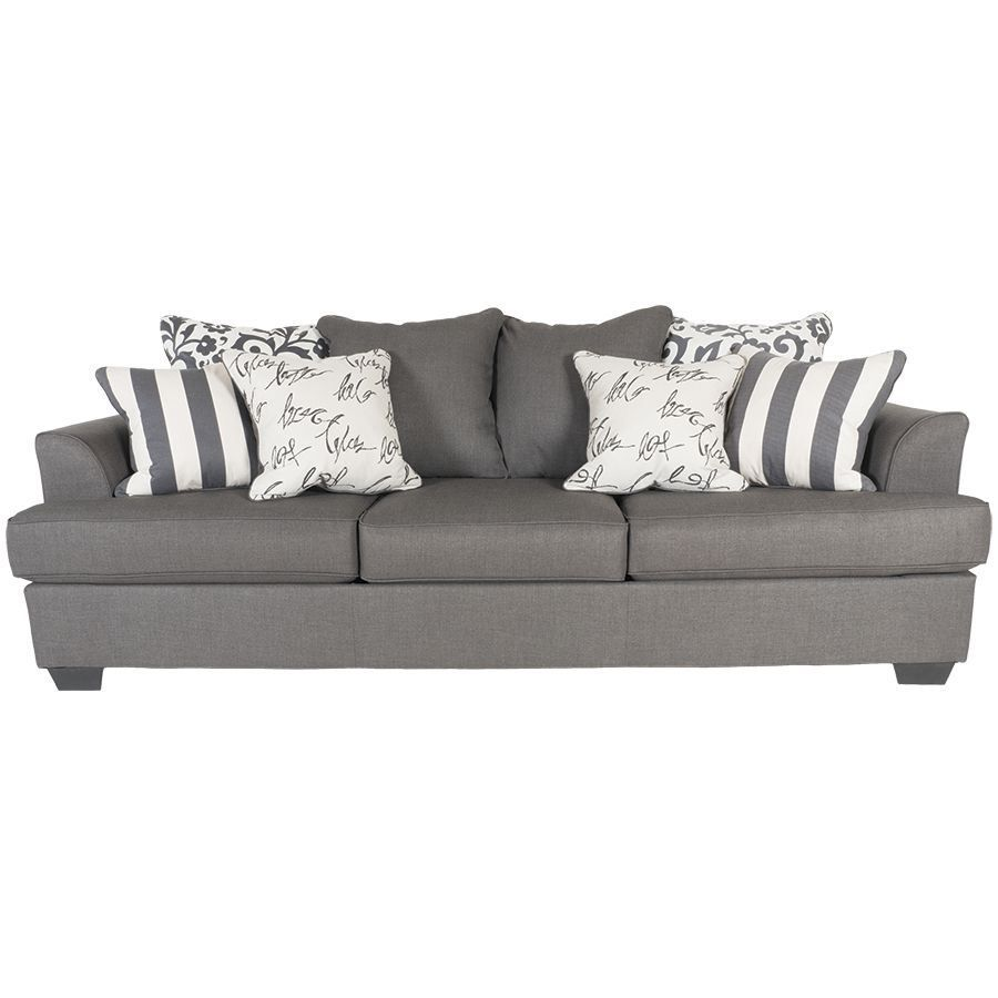 Levon Charcoal Sofa LL-734-S Ashley-7340338 - American Furniture ...