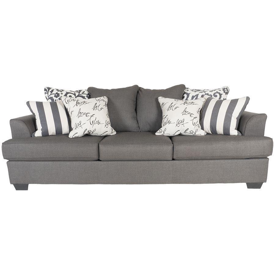 Levon Charcoal Sofa Ll 734 S Ashley 7340338 American Furniture