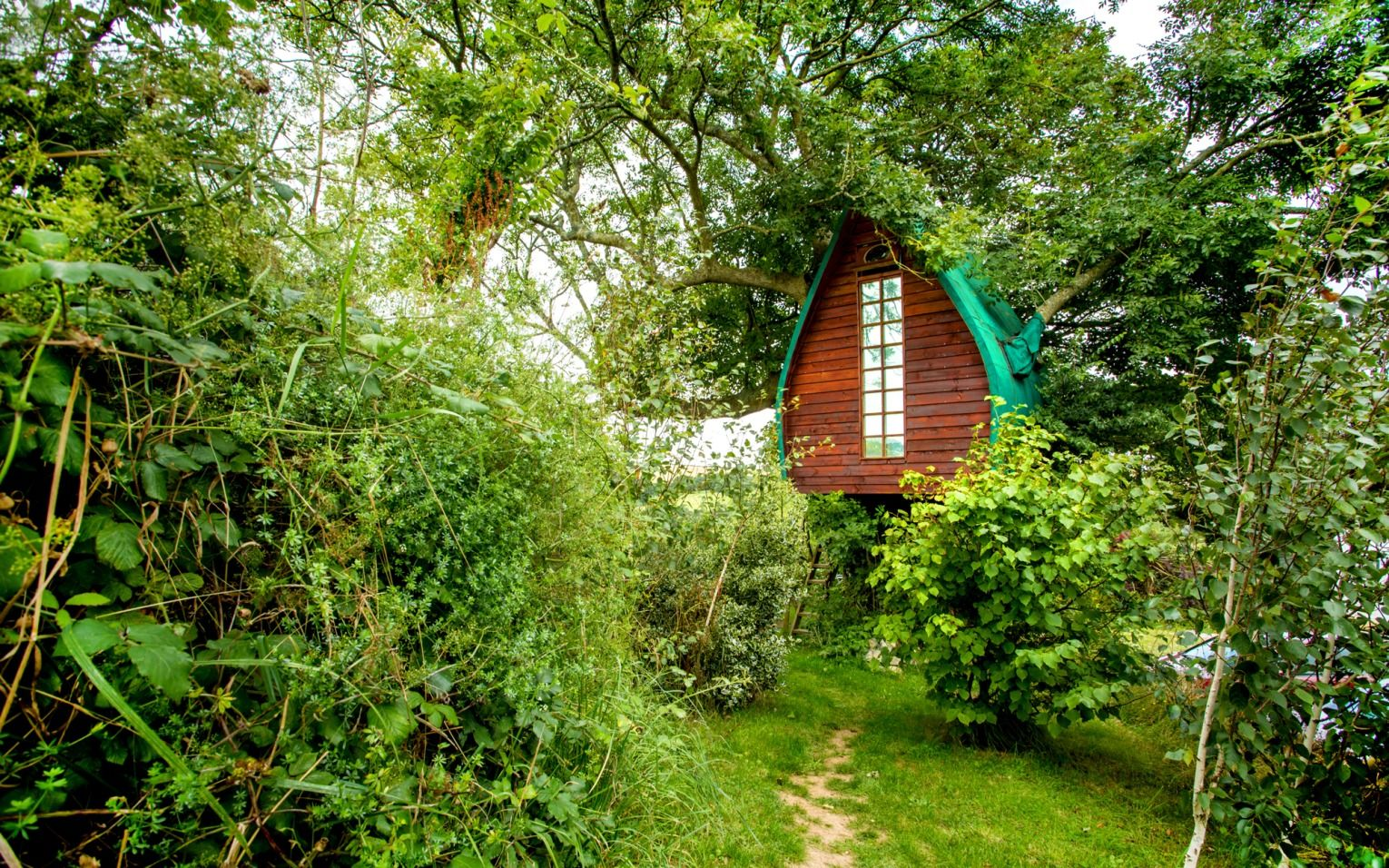 The Most Beautiful Airbnb Rentals In Europe Cool Tree Houses Tree House Hobbit House