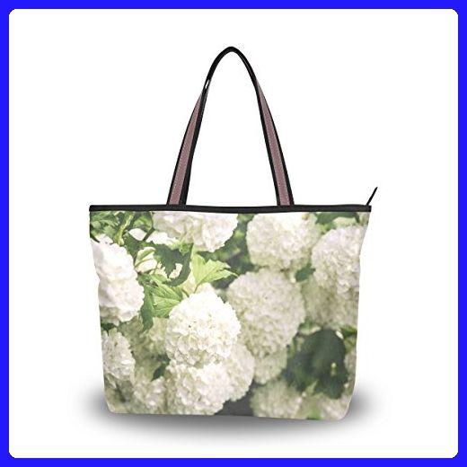InterestPrint Cherries Womens Top Handle PU Leather Shoulder Satchel Bag