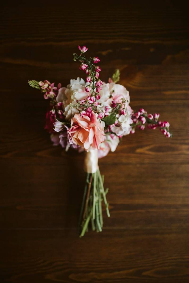 Katelynn Jared S Stunning Smokey Beach Wedding Flower Bouquet Wedding Tahoe Beach Wedding Wedding Flowers