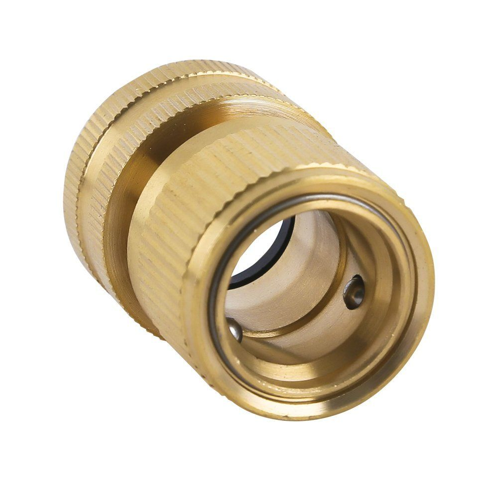 Hqmpc Garden Hose Quick Connectors Garden Hose Connectors Brass Quick Hose End Connectors 3 4 3sets Details Can Be Found By Hose Connector Solid Brass Brass