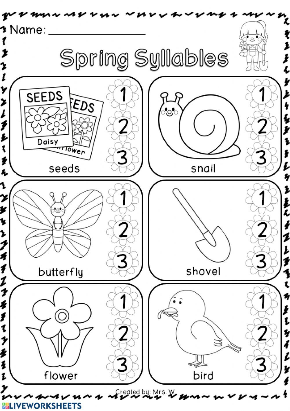 Pin By Tamika On First Grade In 2020 Kindergarten Spring Math Worksheets Spring Math Worksheets Spring Math Kindergarten