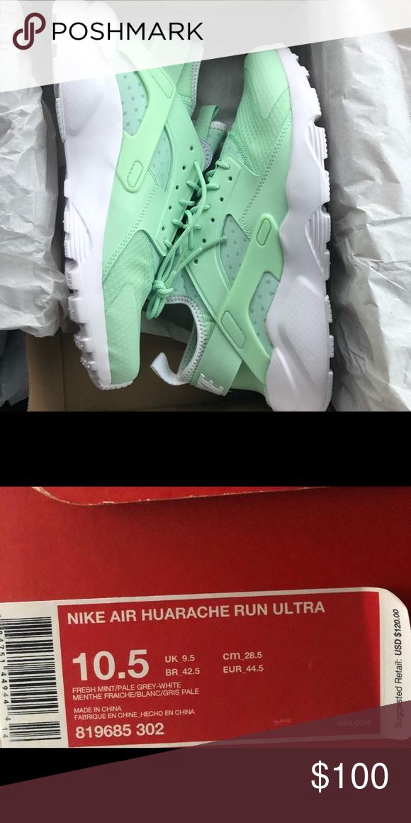 45fa309a34d3f Mens Nike Air Huarache Mint Shoes 819685-302 10.5 Mens Nike Air Huarache  Run Ultra