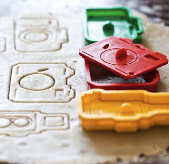 Camera cookie cutters? Oh I know who needs this! @Kelly Talele
