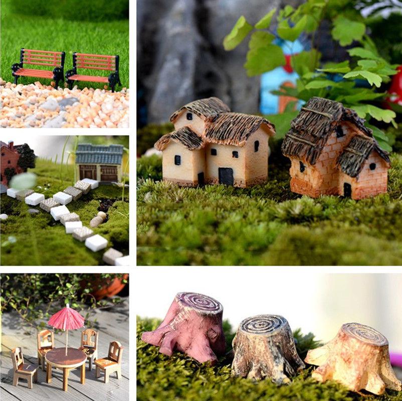 DIY Mini Craft Figurine Plant Pot Garden Ornament Miniature Fairy Garden Decor