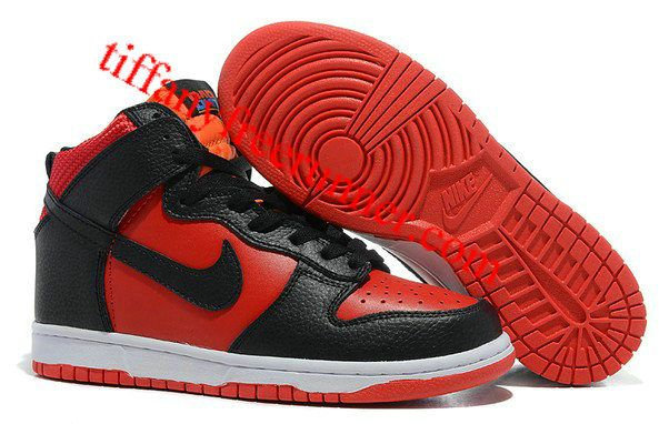 aed8f0c2a3d Nike Dunk USAB High Tops Red Black Orange