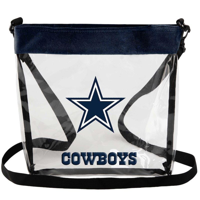 Dallas Cowboys Clear Long Strap Tote Bag Products Bags